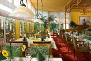 Hotel Landhaus Dierkow in Rostock - das Restaurant