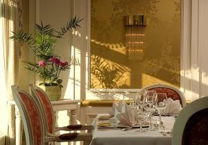 Hotel Landhaus Dierkow in Rostock - der Salon